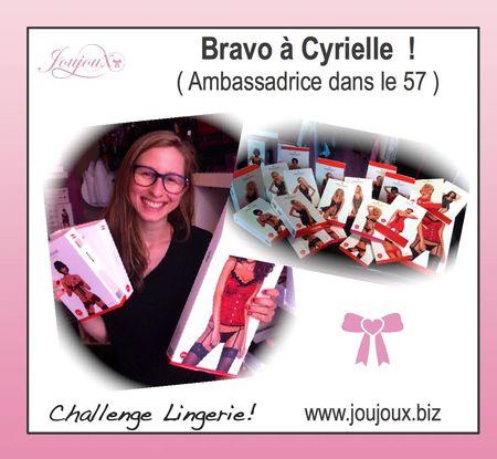 Challenge cyrielle